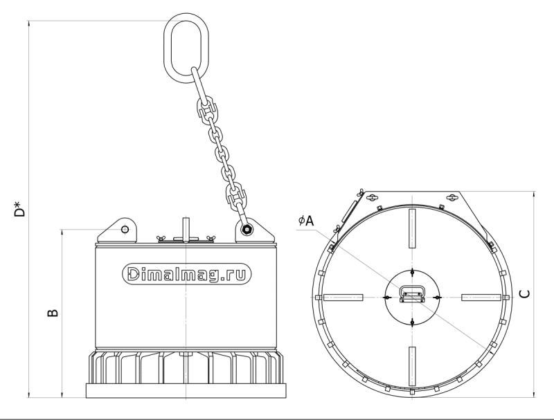 ДКМг размеры