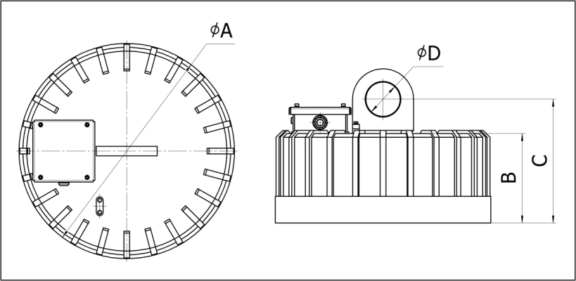 Размеры магнитов ДКМ010-ДКМ055