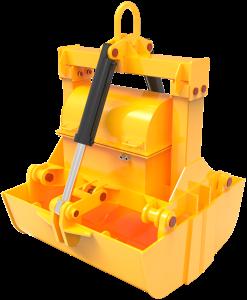 Моторные гидравлические грейферы для подводных работ