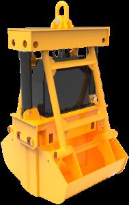 Подводный гидравлический грейфер
