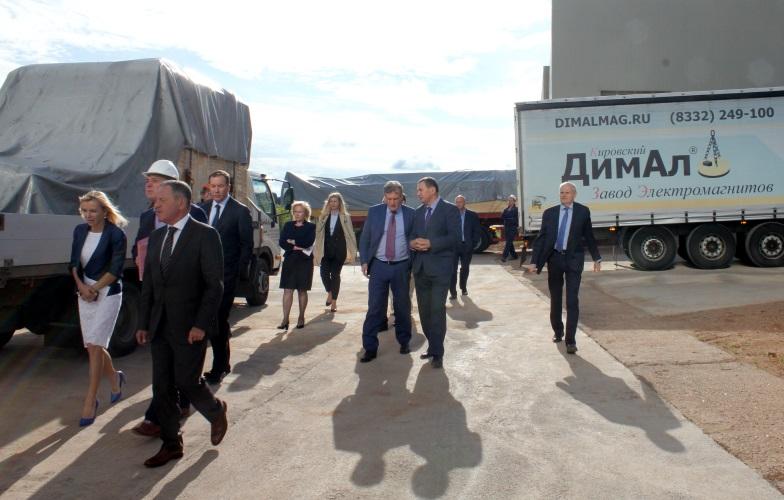 Визит губернатора Игоря Васильева 2017