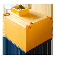 Железоотделители электромагнитные подвесные Ш-образные серии ДЖШ