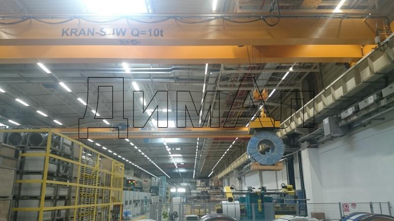 Электромагниты для перегрузки рулонов листовой стали (универсальные)