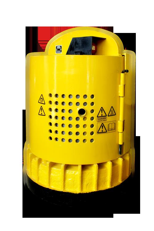 Круглые грузоподъемные электромагниты с питанием от бензо- и дизельгенераторов