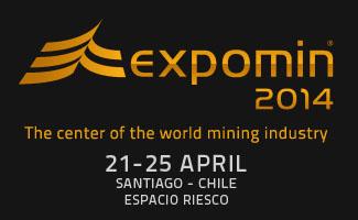 Участие в выставке «Expomin»'2014 г.Сантьяго, Чили